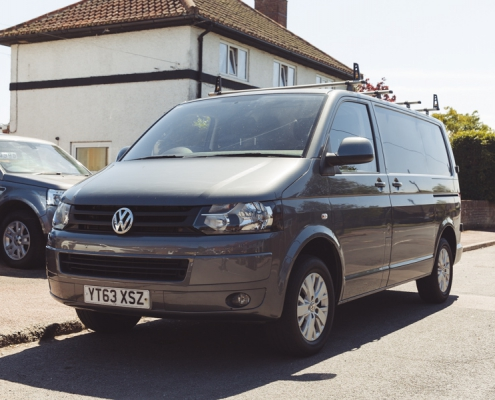VW campervan hire in kent and the south east